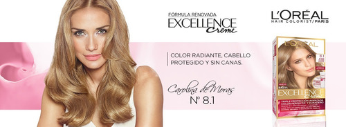 excellence creme loreal coloración en crema tintura kit