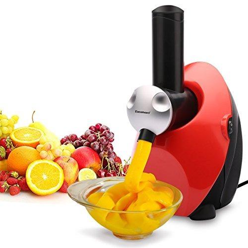 excelvan hecho en casa automático saludable helado de fruta