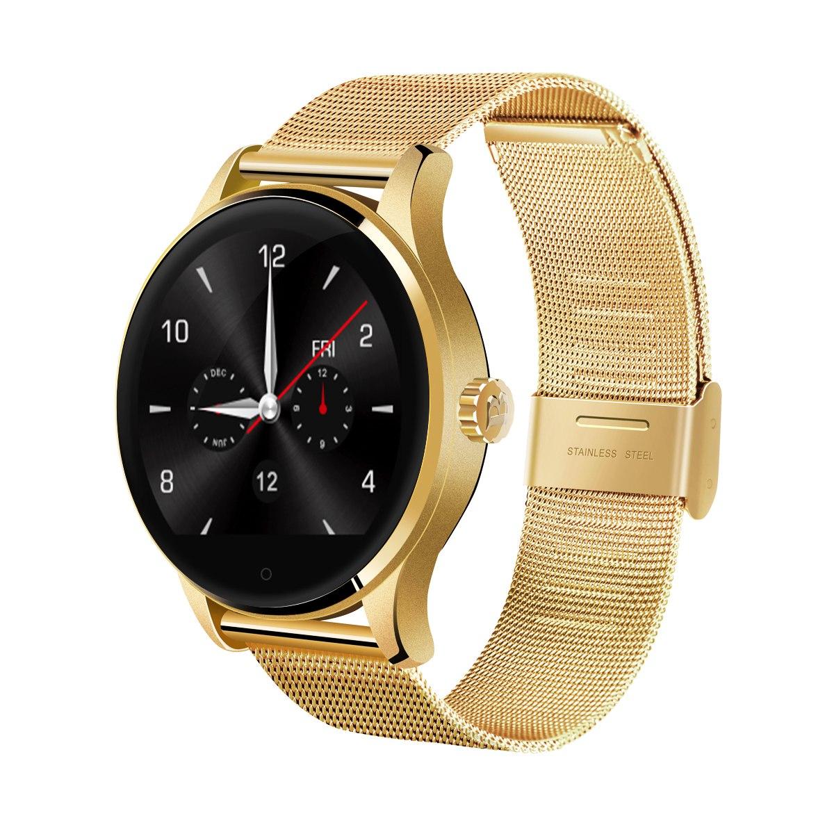 Excelvan K88h Bluetooth Reloj Inteligente Smartwatch-dorado ... 7e9b5b97bef