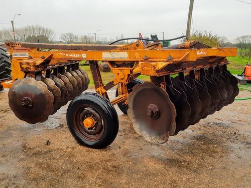 excéntrica aradora pesada baldan 16 discos único dueño