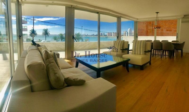 excepcional apartamento parada 1 playa mansa!-ref:100