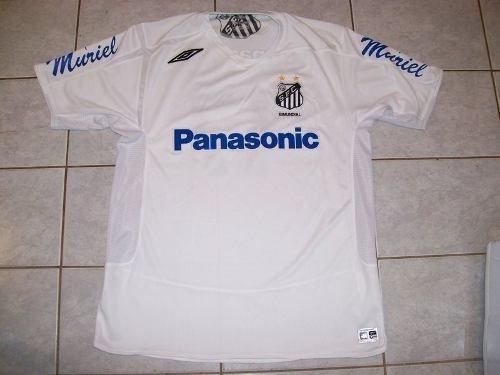 Excepcional Camisa De Jogo Santos  17 Rodrigo Tabata - Tam G - R ... 82fda2e1590fa