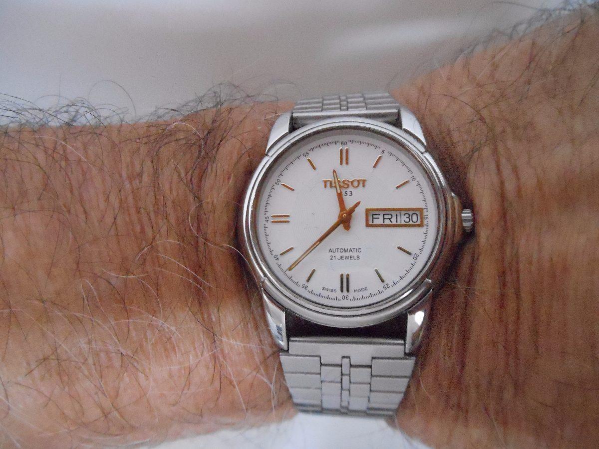 36a597453ac excepcional relógio de pulso tissot. Carregando zoom.