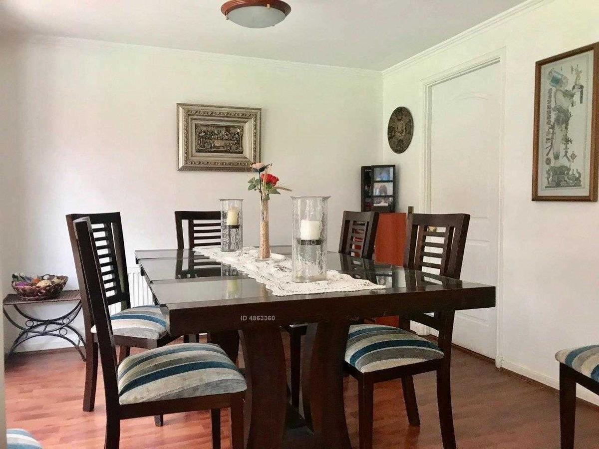 excepcional sector los fresnos, 2 dormitorios en suite, condominio, estilo chilena