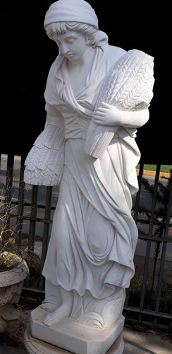 excepcionales y unicas esculturas en marmol 180 cms+ base 60