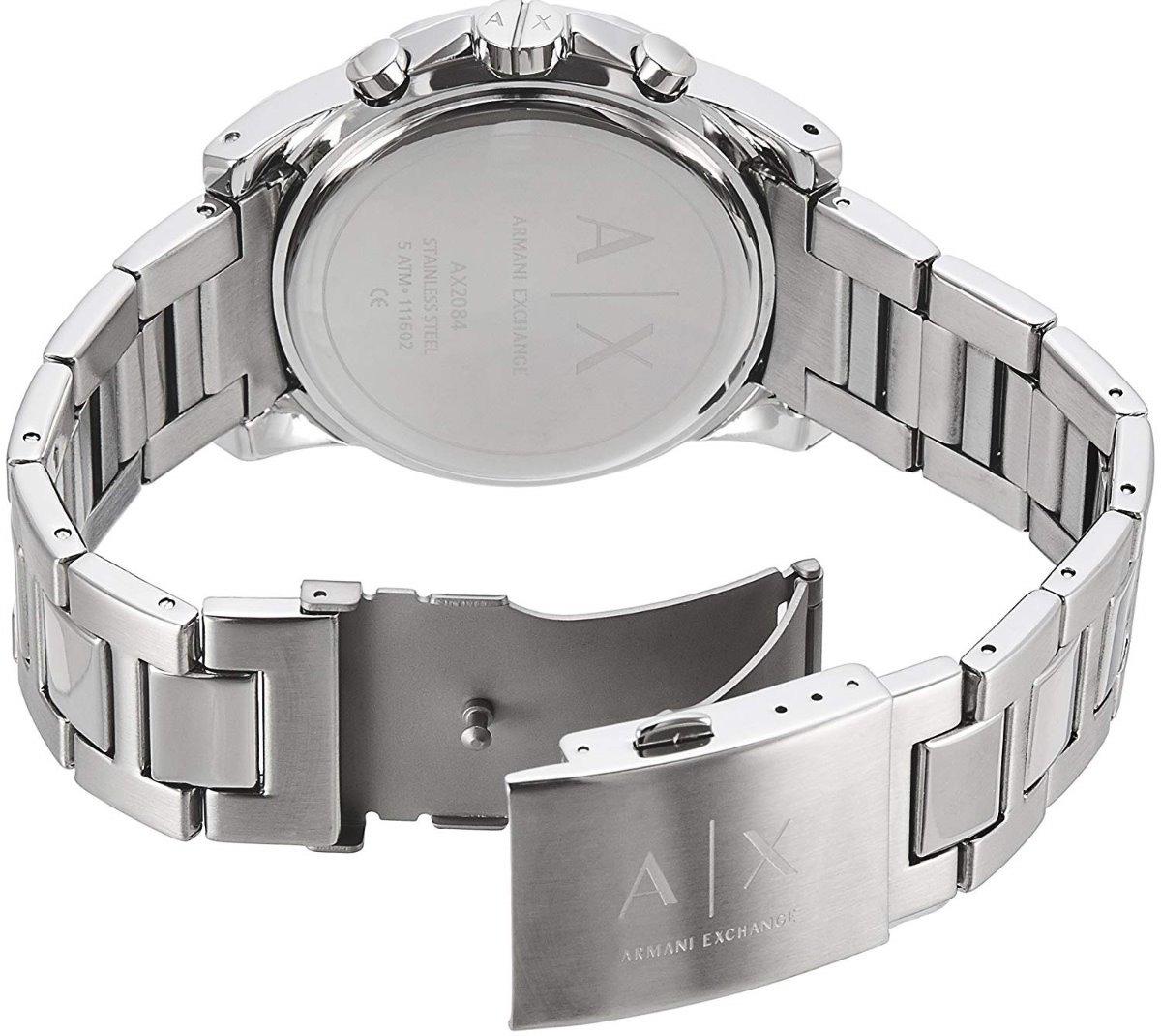 2e8a0dd52db Reloj Armani Exchange Ax2084 Chrono Acero Plateado Hombre ...