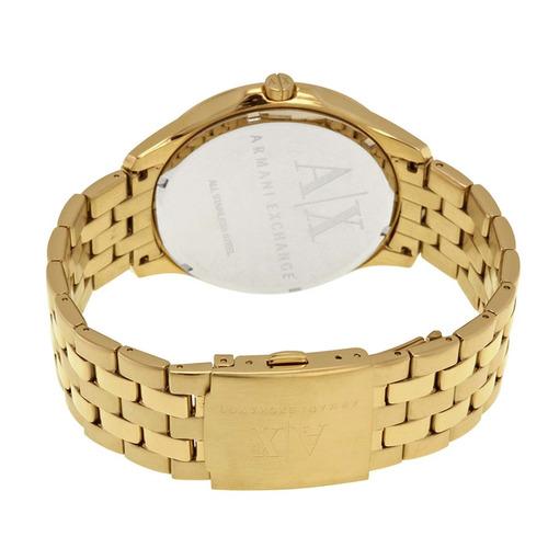 Relógio Armani Exchange Masculino Dourado Analógico Ax2145 4 - R ... fb0a7df63b