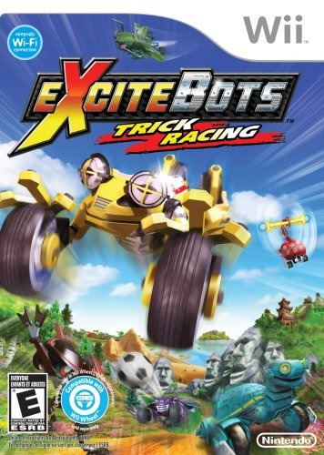 excitebots: trick racing - nintendo wii (solo juego)