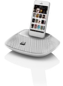 exclusiva bocina para iphone 5 ipod 5 jbl onbeat white