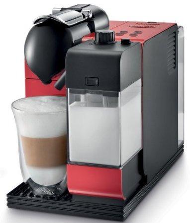 exclusiva cafetera de cápsulas delonghi lattissima nespresso