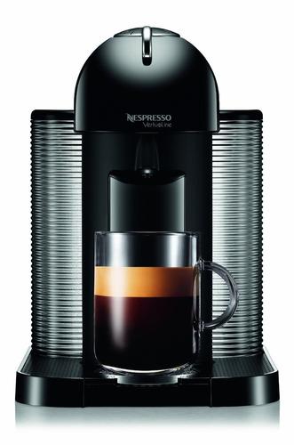 exclusiva cafetera nespresso vertuoline con aeroccino