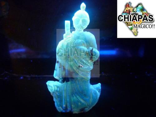 exclusiva escultura de ámbar de chiapas san judas en relieve
