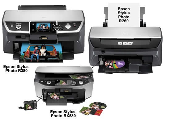 EPSON STYLUS PHOTO R260 PRINTER DRIVERS