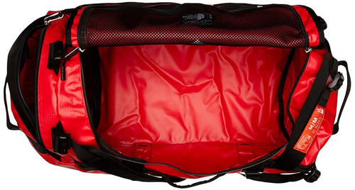 exclusiva maleta backpack contra agua north face duffel