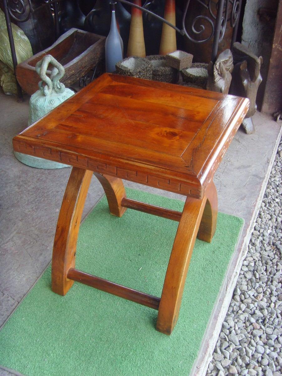 Exclusiva mesa de madera de mezquite para exterior - Madera para mesa ...