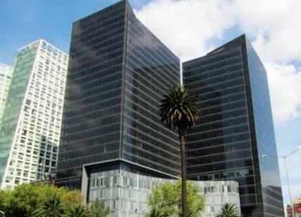 exclusiva oficina en renta de 288 m2 en paseo de la reforma.