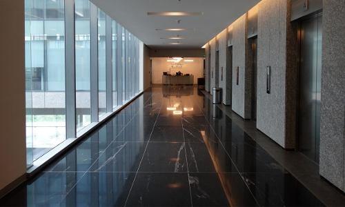 exclusiva oficina en renta desde 1000 m2 en lomas de santa fé.