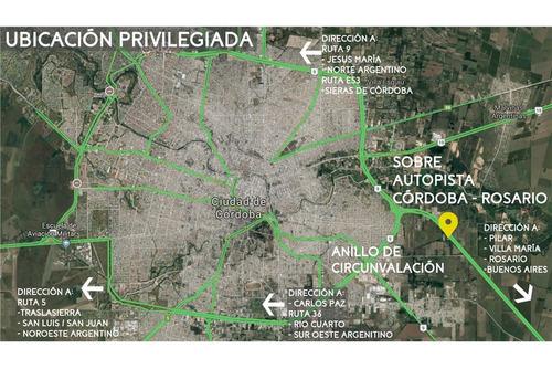 exclusiva planta  industrial -galpón -3800m2 -cba