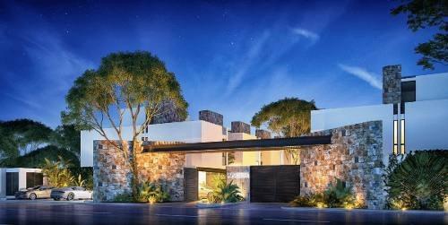 exclusiva privada anona temozon norte, 3 recámaras + alberca + roof top