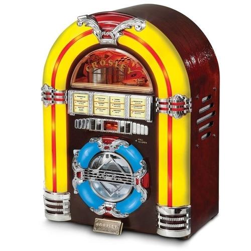 exclusiva rockola rocola retro crosley jukebox