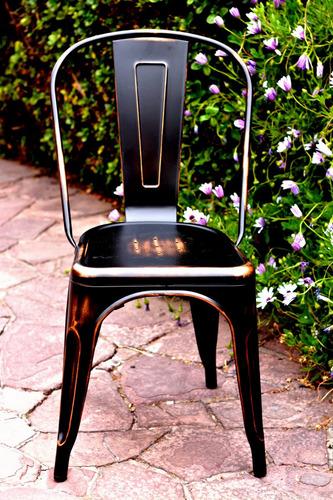 exclusiva silla cobre desgastado