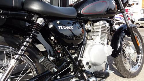 exclusiva suzuki tu250x japonesa 250cc inyeccion inmaculada