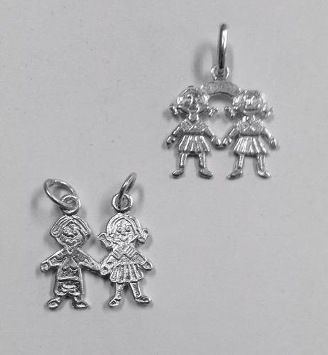 exclusiva venta joyas baratas parejas de niñitos plata fina