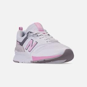 Exclusiva Zapatilla New Balance 997 White & Rose Mujer