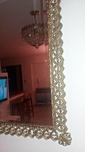 exclusivas antiguedad mesa espejo bronce mármol