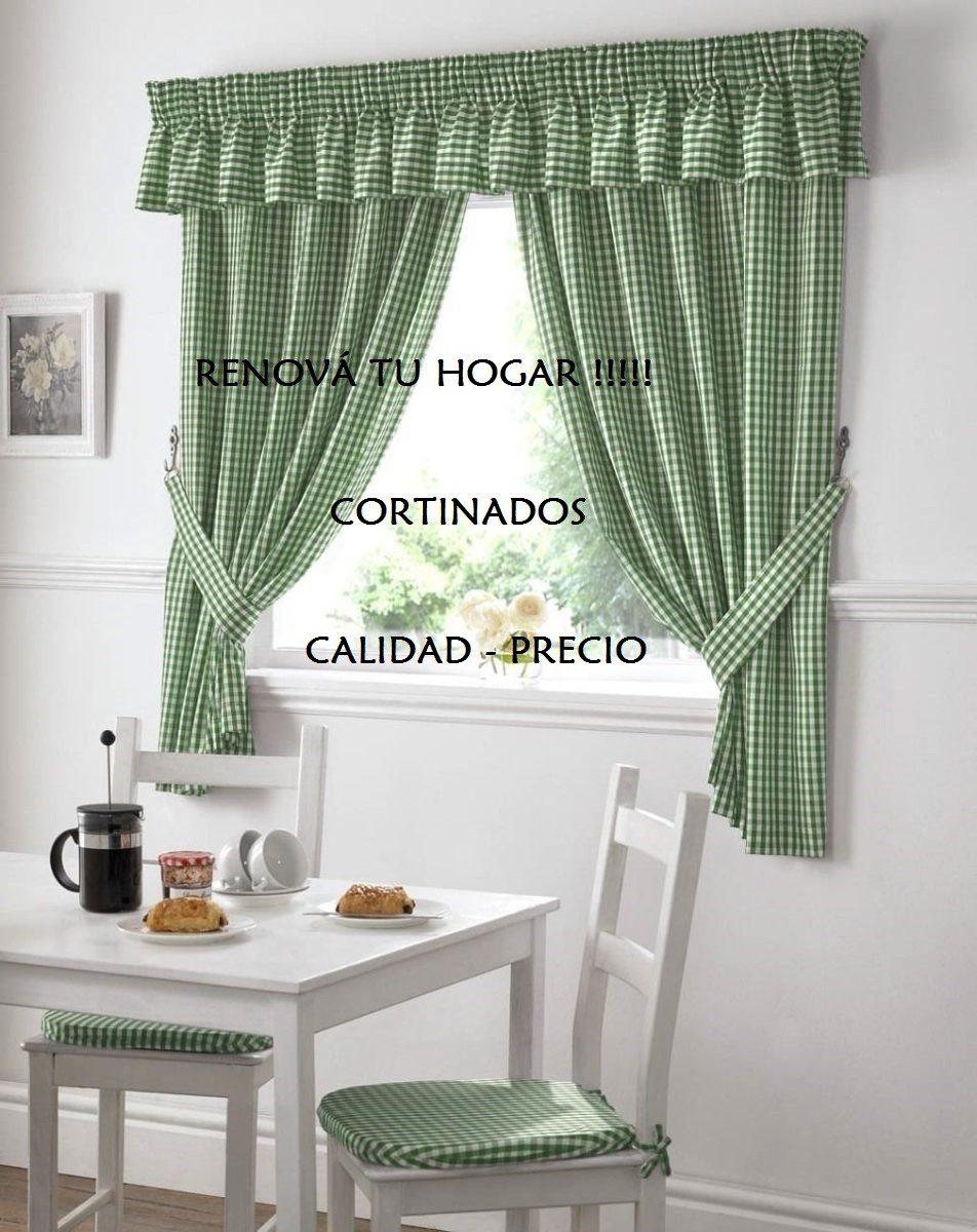 Exclusivas cortinas de cocina preciosas 350 00 en - Cortinas para puertas de cocina ...