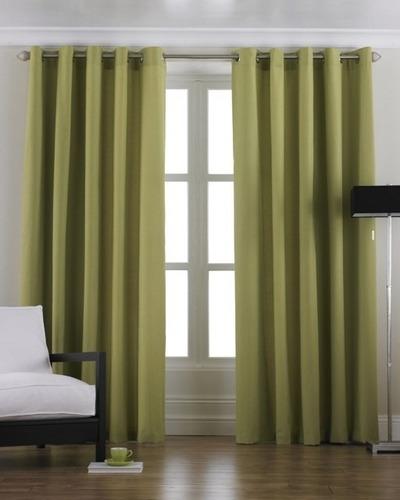 exclusivas cortinas en panamá con ojalillos para barrote