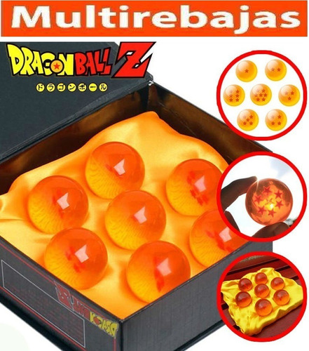 exclusivas esferas coleccionables de  dragon ball z