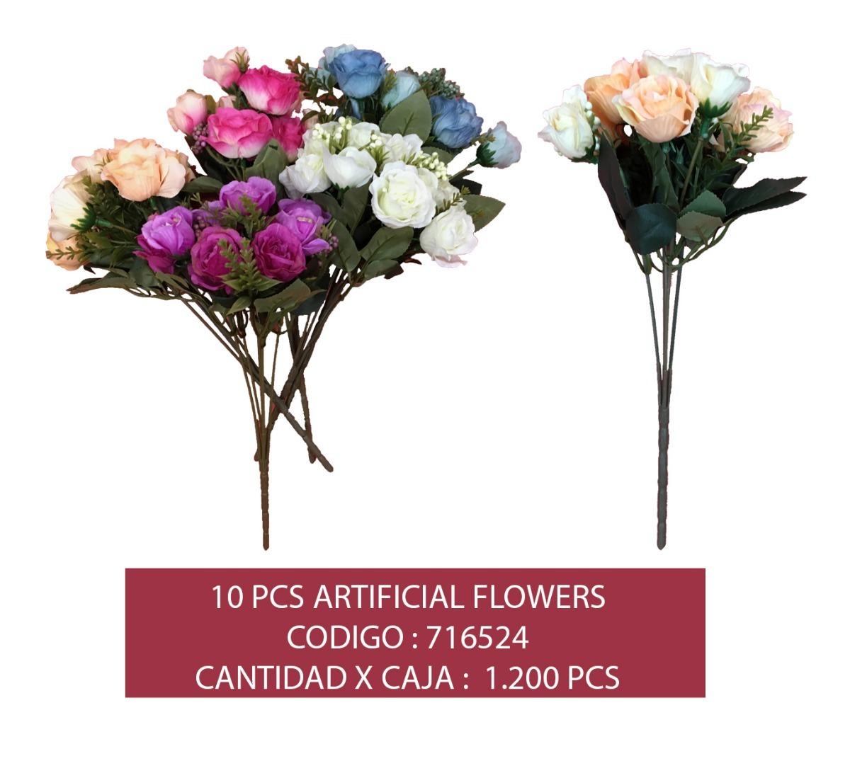 Exclusivas Flores Artificiales Para Decorar 2 000 En Mercado Libre