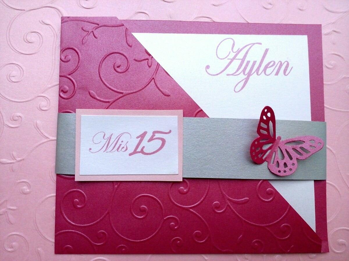 Exclusivas Invitaciones De Cumpleaños 15 Años Tarjeteria