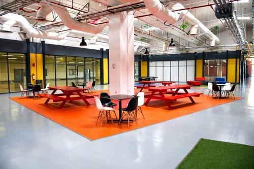 exclusivas oficinas en renta de 686 m2 en parque industrial naucalpan.
