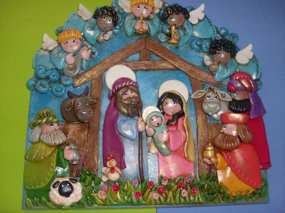 Exclusivas piezas artesanales motivos navide os bs 2 - Tarjetas con motivos navidenos ...
