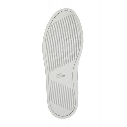 exclusivas zapatillas de cuero lacoste, dark grey
