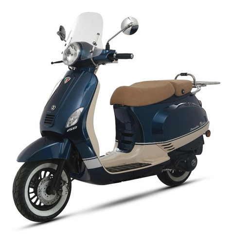 exclusive 125 zanella scooter styler