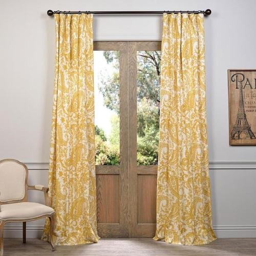 exclusive fabrics edina printed cotton cortina panel