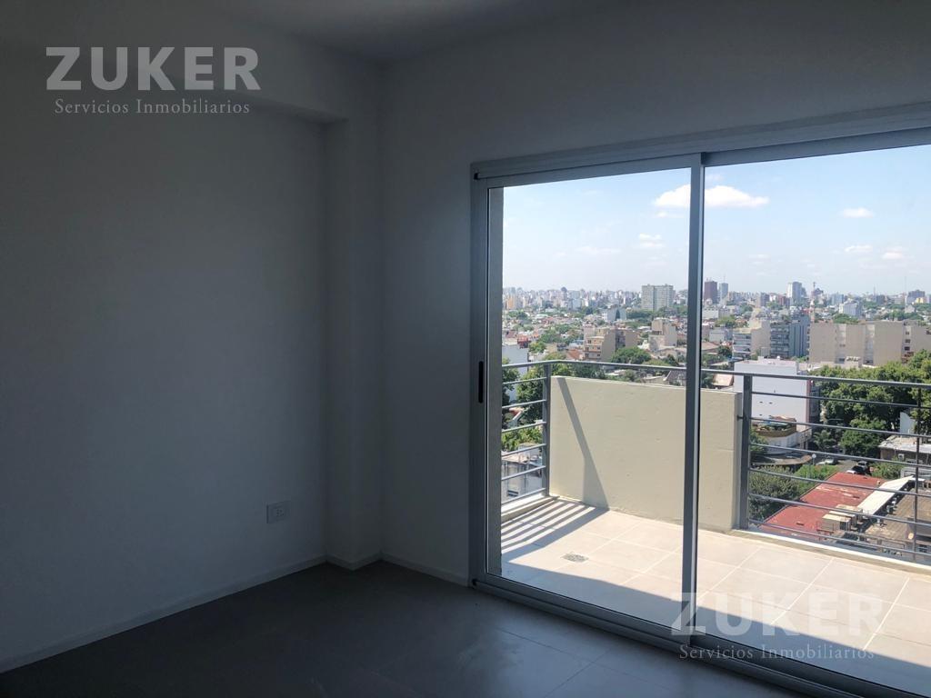 exclusivo 2 amb con balcon terraza . vista a toda la ciudad . cochera