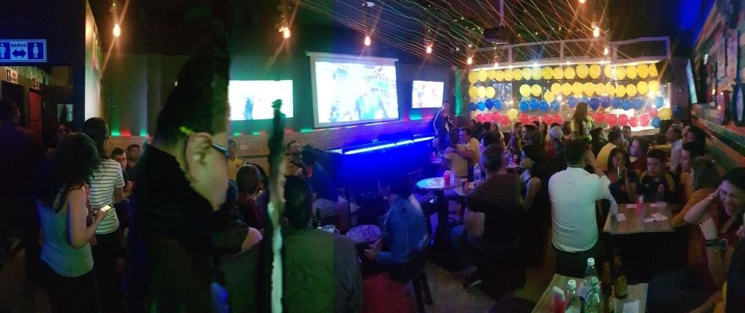 exclusivo bar zona calle 80 de 2 ambientes