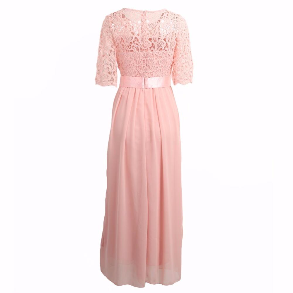 Exclusivo Bello Vestido Importado Fiesta Boda 15 Rosa Largo - $ 989 ...