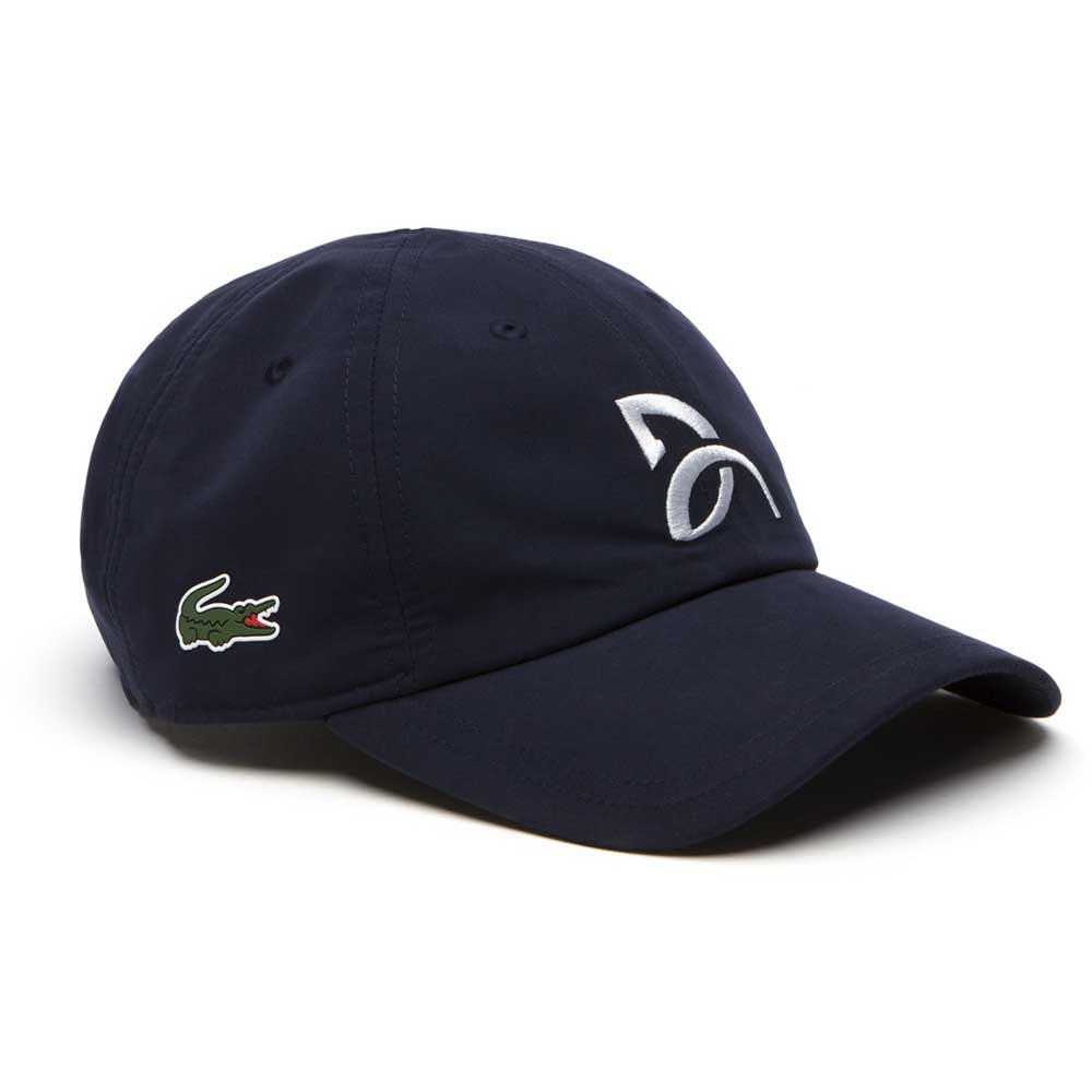 4f5b40b7bd5 Exclusivo ! Bone Lacoste Novak Djokovic Navy Ultra Dry - R  249