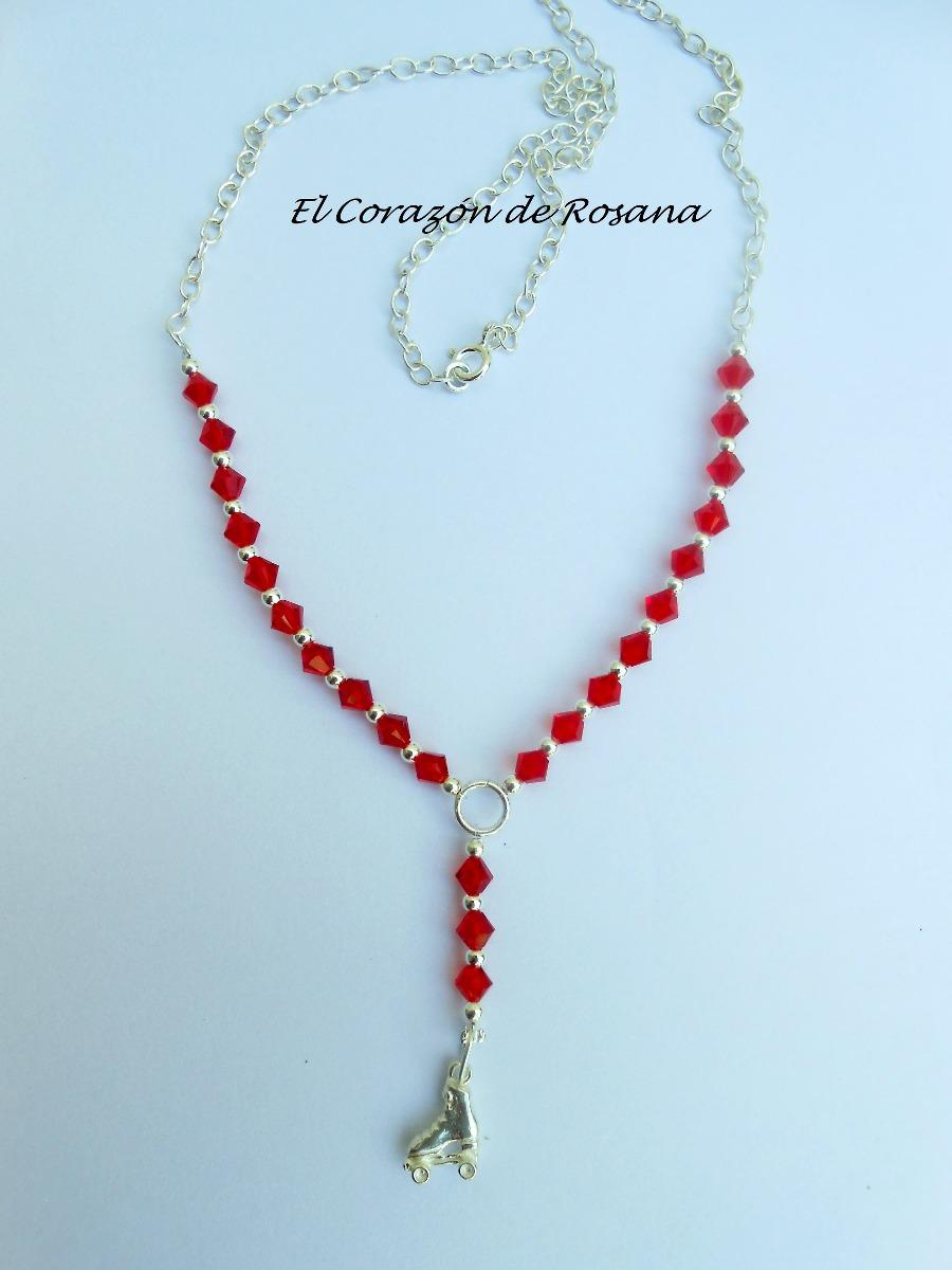 822ae420be7c exclusivo collar de cristal swarovski genuino y plata 925. Cargando zoom.