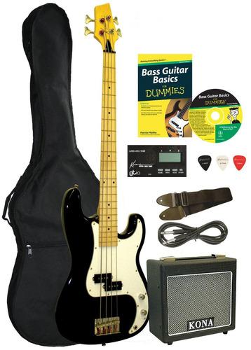 exclusivo combo de bajo bass starter pack for dummies