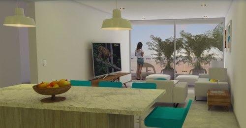 exclusivo departamento en playa del carmen