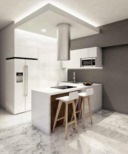 exclusivo departamento en pre-venta de 133 m2 en los alpes.