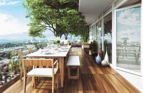 exclusivo departamento en pre-venta de 87 m2 en los alpes.