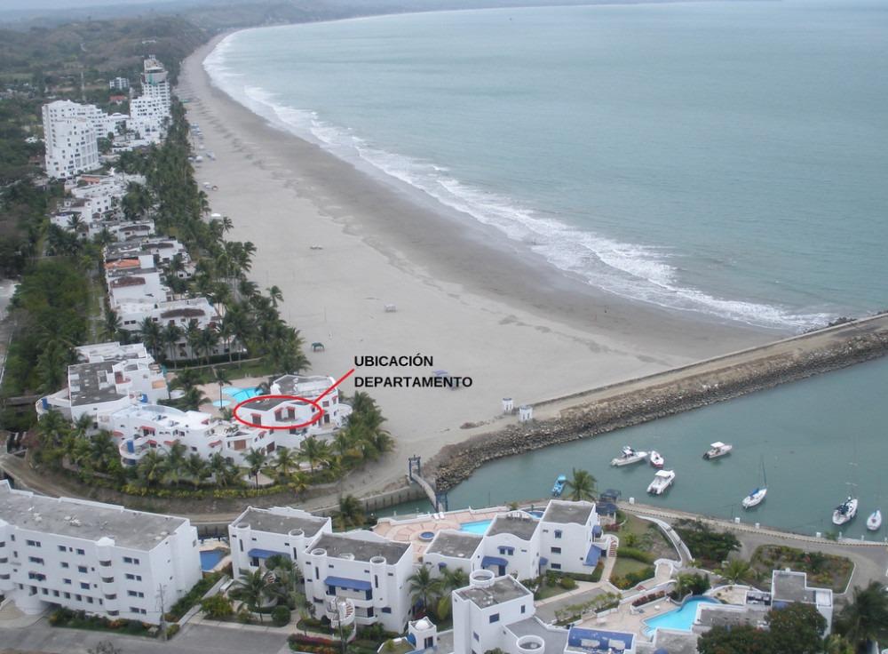 exclusivo departamento frente mar y playa 6 pers. casablanca