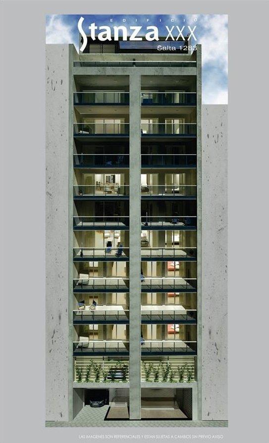 exclusivo depto al pozo - parque españa - premium - piso exclusivo - balcon terraza y parrillero